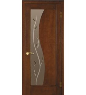 Дверь шпонированные Анталия 16 каштан (Украина)