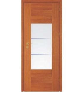 Дверь сосновая с покрытием эко-шпон 3D Полло 4.3 (Украина)