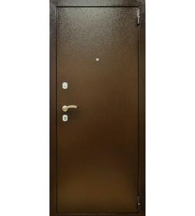 Дверь стальная Порошковая эмаль, снаружи- лист металла, внутри- МДФ накладка, с минватой (Украина)