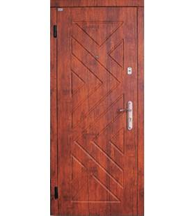 Дверь стальная Премиум 114 с МДФ накладками, металл 2мм в коробке и в полотне
