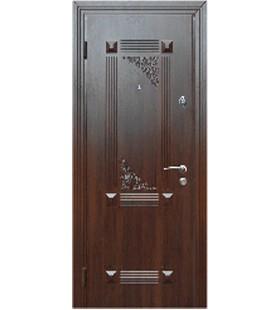 Дверь стальная с МДФ накладками модель 312