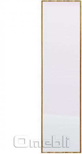 Дверь UK-38 ДСП с зеркалом  венге A10267