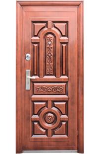 Двері 150 автоемаль мідь 2 замка, наповнювач - мінеральна вата. Розмір: 2050860мм, 2050960мм, 20501200
