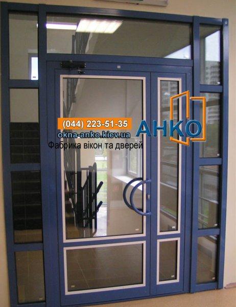 Фото 4 ✪ Двери входные алюминиевые ✪ Входные группы из алюминия Фабрика Анко 2423