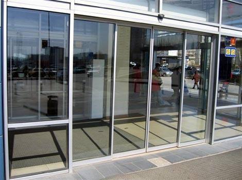 Двери автоматические раздвижные