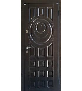 Двери бронированные Модель 125 тик, рисунок с двух сторон, металл 2мм в коробке, 1,5мм в полотне минеральная вата.