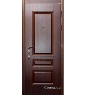 Двери бронированные Модель 16 темный миндаль