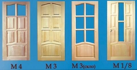 Двері дерев'яні Виготовляємо дубові двері вхідні і міжкімнатні стандартних розмірів та на індивідуальне замовлення.