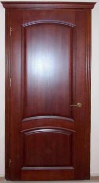 Двери деревянные из дуба