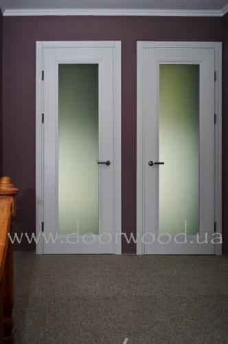 Двери деревянные межкомнатные из массива ясеня или дуба, модель Iren