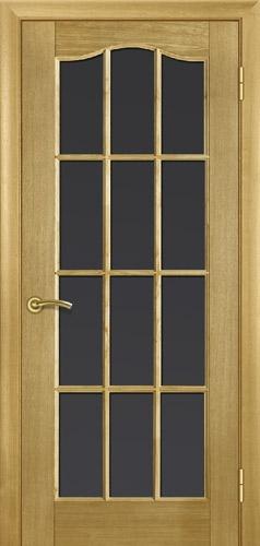 """Двери деревянные шпонированые. Модель №2 цвет: """"дуб"""", """"красное дерево"""". Под стекло, глухая."""