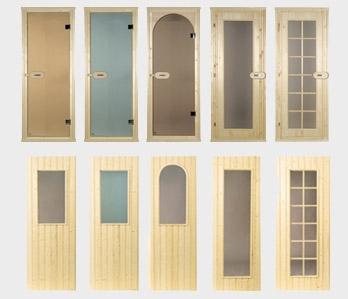Двери для саун