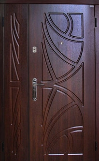 Двери двустворчатые входные