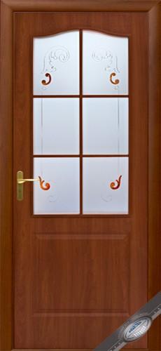 Двери Фортис В Новый стиль, ПВХ двери со стеклом