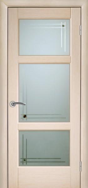 Двери Генри. ПО, ПГ. Цвет: беленый дуб, венге