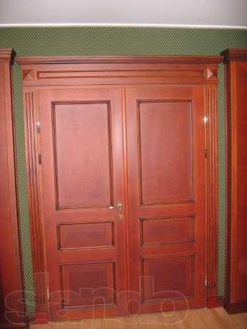 Двери из дерева под заказ