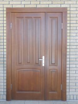 Двери из дуба изготовить