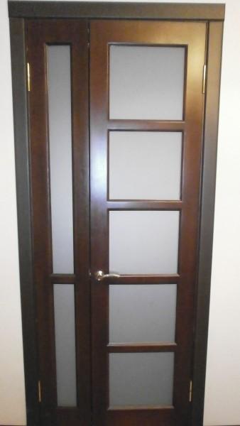 """двери из массива сосны """"мозаика"""" распашные"""
