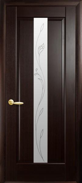 Двері колекції «Маестра Р» модель Премєра матове скло