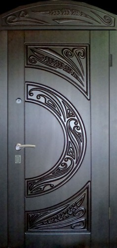 Двери металлические с мдф 3-Д