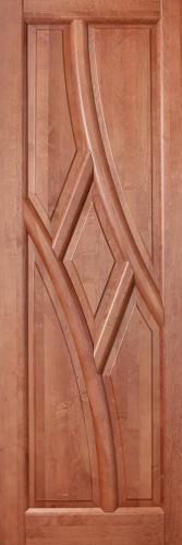 Двери межкомнатные Глория, 100% массив ольхи