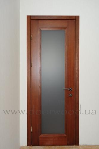 Двери межкомнатные из массива ясеня или дуба, модель Iren