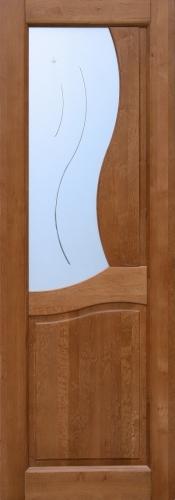 Двери межкомнатные Верона, 100% массив ольхи