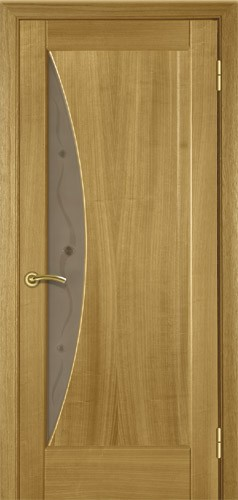 Двері міжкімнатні деревяні. Шпоновані. Модель 11 зі склом. Коробка, лиштва в комплекті.