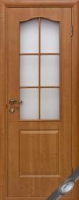 Двері міжкімнатні Фортіс з матовим склом ТМ Новий Стиль