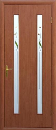 Двері міжкімнатні колекції Квадра Вера ТМ Новий Стиль зі складу у Львові в кольорі : венге, горіх