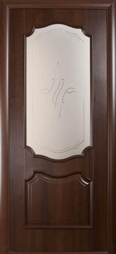 Двері міжкімнатні РОККА. Ціна за полотно коробка замки петлі ручки і скло. У кольорах золота вільха, каштан, ясен.