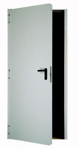 Двери противопожарные металлические, окрашенные. ЕІ60. 1000*2100 мм