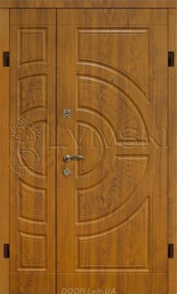 Двері вхідні Львівські зовнішні подвійні - 5100 грн