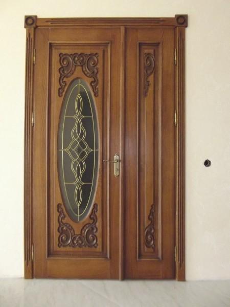 Двері вхідні дубові