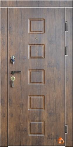 Двери входные металлические молотковый покрас.