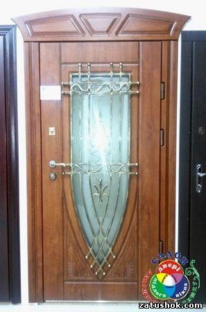 Двері вхідні металеві.