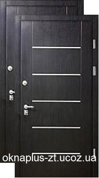 Двери входные бронированные: отделка термопленка Винорит
