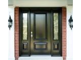 Двери входные металические с дубовыми накладками изготовление под размер