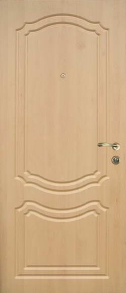 Двери входные металлические с МДФ накладками