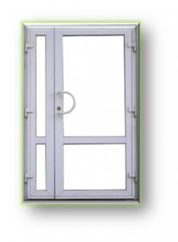 Двери входные металлопластиковые из профиля WDS, OpenTeck, Salamander. Сжатые сроки. Гарантия качества.