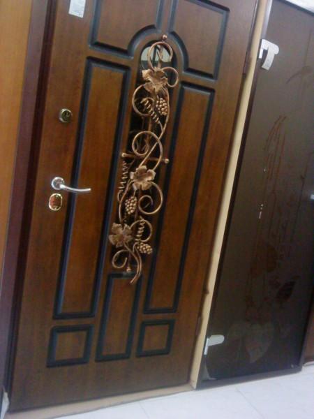дверь входная стальная нестандартная ковка