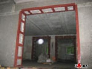 Дверные проемы с укреплением. Демонтаж