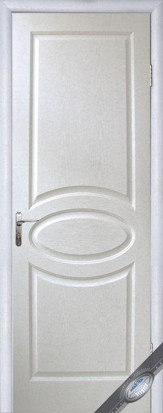 Дверное полотно глухое Симпли овал