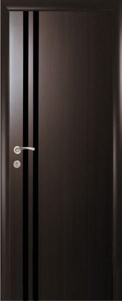 Дверное полотно ламинированное глухое Квадра Агата