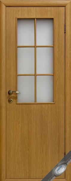 Дверное полотно ламинированное со стеклом Колори В