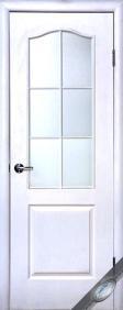 """Дверное полотно МДФ """"Сипли"""" В(без стекла), """"ТМ Новый стиль"""" цвет:белый"""