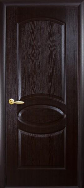 Дверное полотно, покрытое ПВХ пленкой Фортис овал глухое