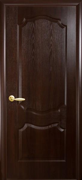 Дверное полотно, покрытое ПВХ пленкой, глухое Фортис вензель