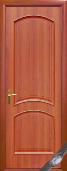 Дверное полотно, покрытое ПВХ пленкой, глухое Интера Антре