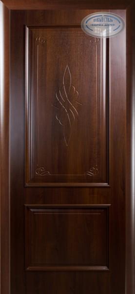 Дверное полотно, покрытое ПВХ пленкой Интера Вилла